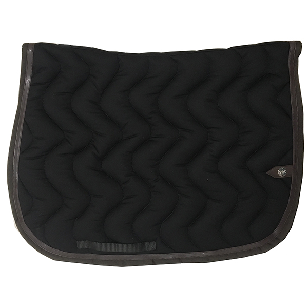 SC_0024_silver-crown_equestrian_saddle-pad_vague_wave_bridle_tapis-de-selle_bridle_noir_black_chocolat_dark-brown