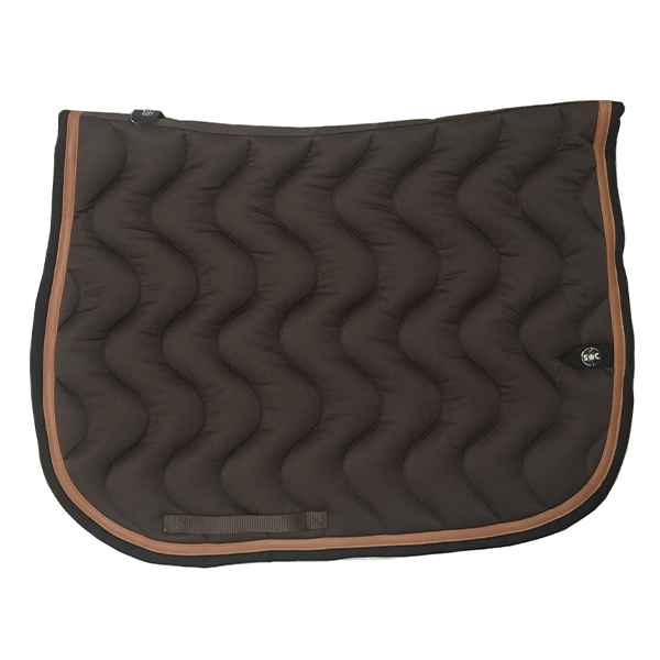 SC_0031_silver-crown_equestrian_saddle-pad_vague_wave_bridle_tapis-de-selle_bridle_chocolat_dark-brown_conker_noir_black