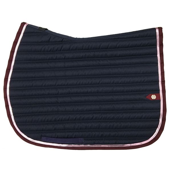 SC_0034_silver-crown_equestrian_saddle-pad_slim_bridle_tapis-de-selle_bridle_marine_navy_or-rose_gold-pink_bordeaux_burg