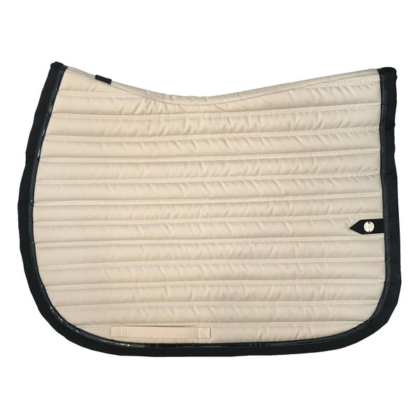silver-crown_equestrian_saddle-pad_slim_bridle_tapis-de-selle_bridle_ivoire_ivory_black_noir