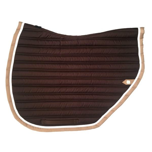 silver-crown_equestrian_saddle-pad_tapis-de-selle_slim-cut_jumping_choco_dark-brown_blanc_white_tan