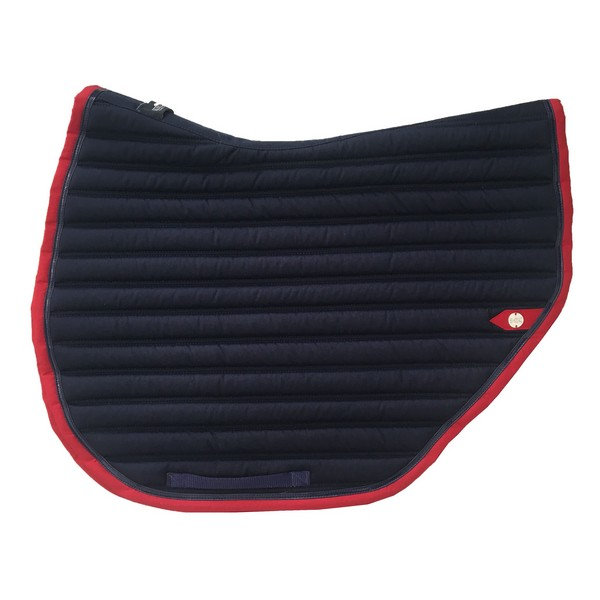 silver-crown_equestrian_saddle-pad_tapis-de-selle_slim-cut_jumping_marine_navy_rouge_red