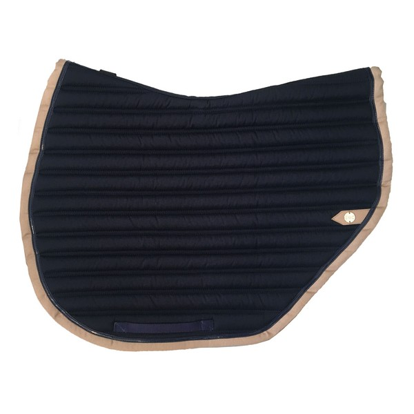 silver-crown_equestrian_saddle-pad_tapis-de-selle_slim-cut_jumping_marine_navy_tan