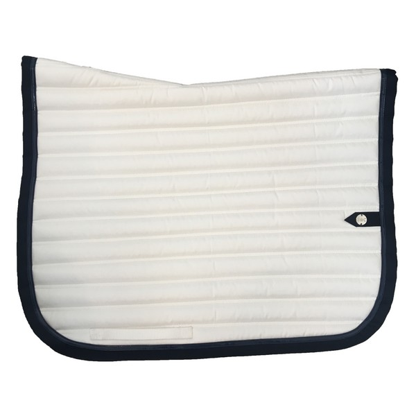 silver-crown_equestrian_saddle-pad_tapis-de-selle_slim_dressage_blanc_white_marine_navy
