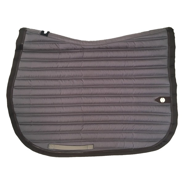 silver-crown_equestrian_saddle-pad_tapis-de-selle_slim_jumping_grey_gris_choco_dark-brown