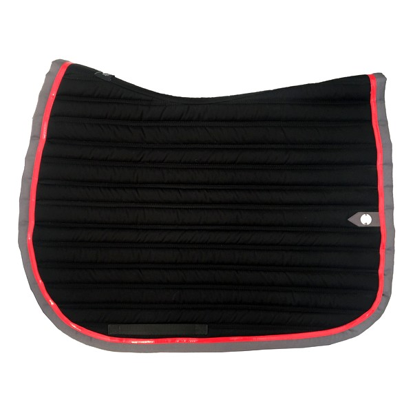 silver-crown_equestrian_saddle-pad_tapis-de-selle_slim_noir_black_grey_gris_rouge_red