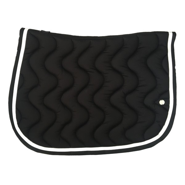 silver-crown_equestrian_saddle-pad_vague_wave_bridle_tapis-de-selle_bridle_black_noir_blanc_white