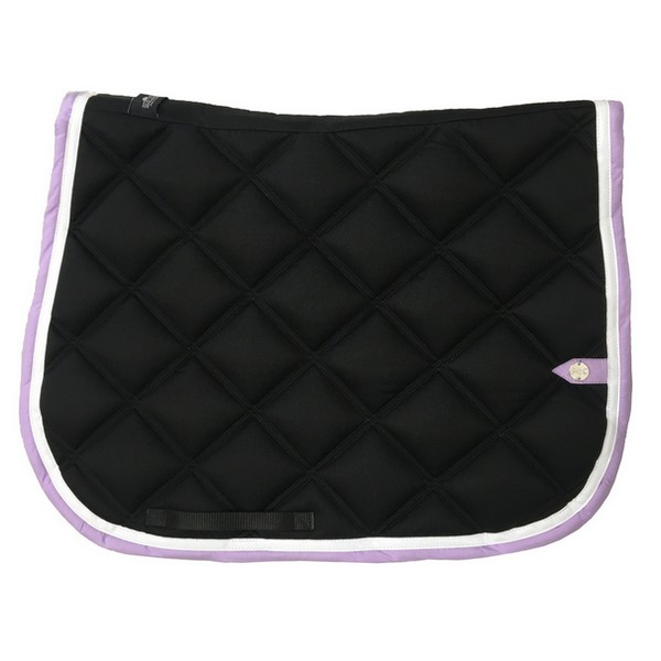 silver-crown_equestrian_saddle-pad_double-carre_double-square_bridle_tapis-de-selle_jumping_bridle_black_noir_blanc_white_lavande_lavender