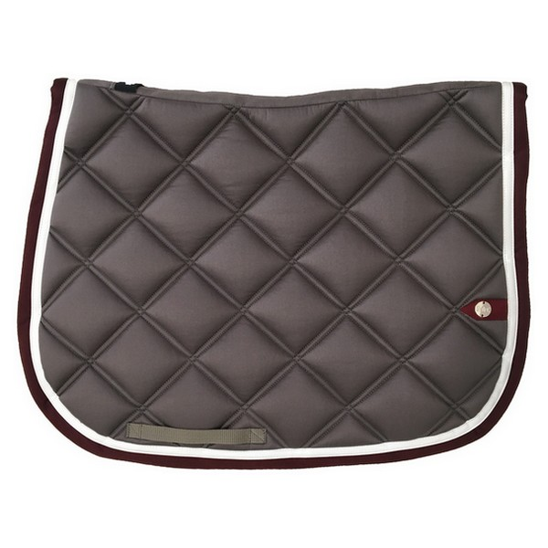silver-crown_equestrian_saddle-pad_double-carre_double-square_bridle_tapis-de-selle_jumping_bridle_gris_grey_blanc_white_bordeaux_burgundy