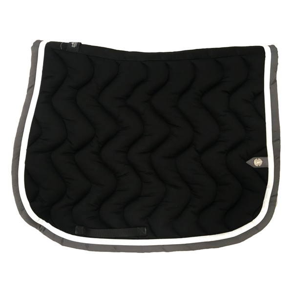 silver-crown_equestrian_saddle-pad_jumping_vague_wave_bridle_tapis-de-selle_bridle_black_noir_blanc_white_gris_grey