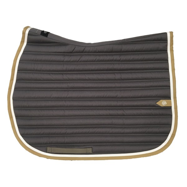 silver-crown_equestrian_saddle-pad_slim_bridle_tapis-de-selle_jumping_bridle_gris_grey_blanc_white_tan_beige