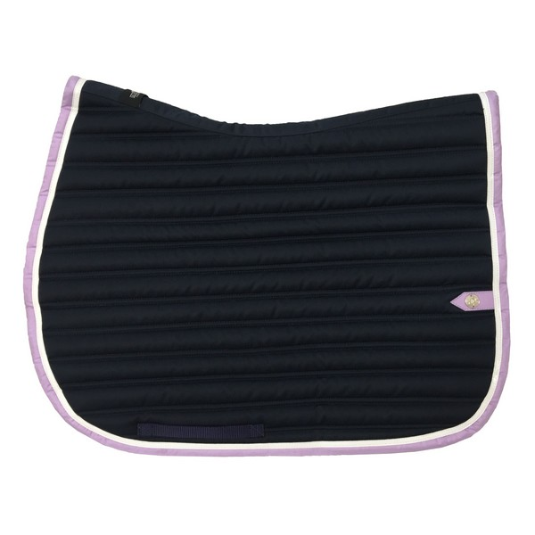 silver-crown_equestrian_saddle-pad_slim_bridle_tapis-de-selle_jumping_bridle_marine_navy_blanc_white_lavande_lavender