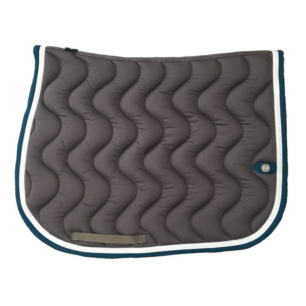 silver-crown_equestrian_saddle-pad_vague_wave_bridle_tapis-de-selle_jumping_bridle_grey_gris_blanc_white_bleu-canard_blue-teal