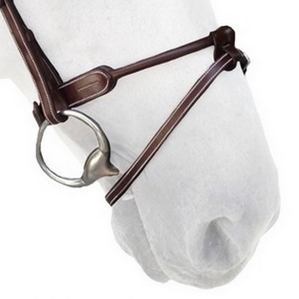 N09 - Cuir rond - Round leather noseband