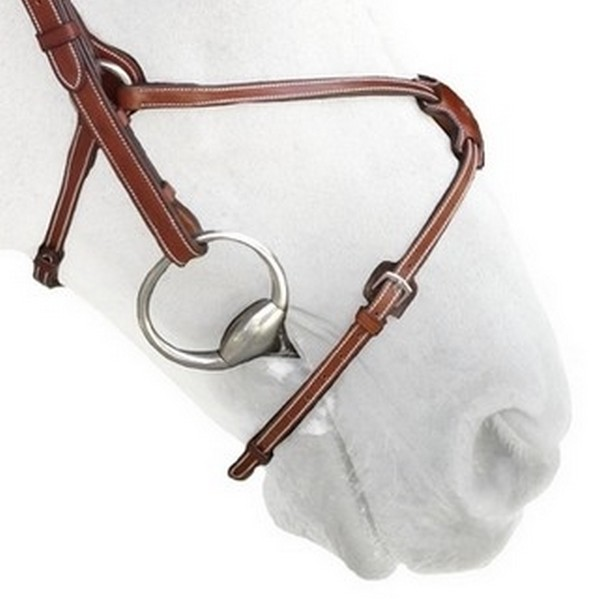 N10 - Muserolle croisée - Figure eight noseband