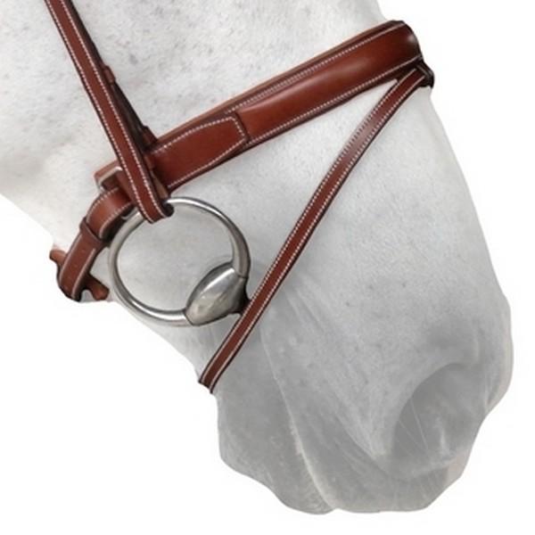 N13 Muserolle Pull Back - Crank noseband