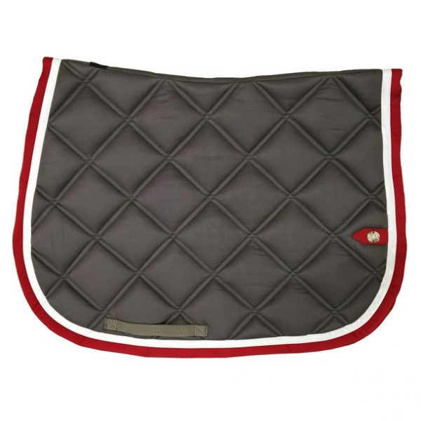 silver-crown_equestrian_jumping_saddle-pad_double-carre_double-square_bridle_tapis-de-selle_bridle_gris_grey_blanc_white_rouge_red