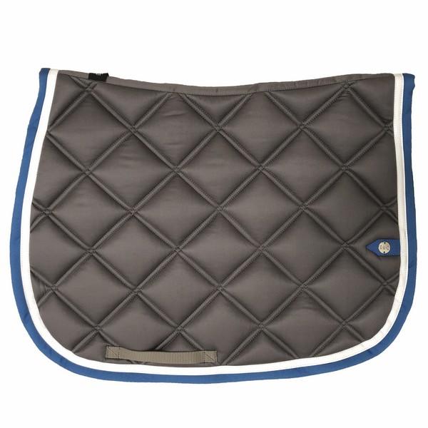 silver-crown_equestrian_saddle-pad_double-carre_double-square_bridle_tapis-de-selle_bridle_gris_grey_blanc_white_bleu-roi_royal-blue
