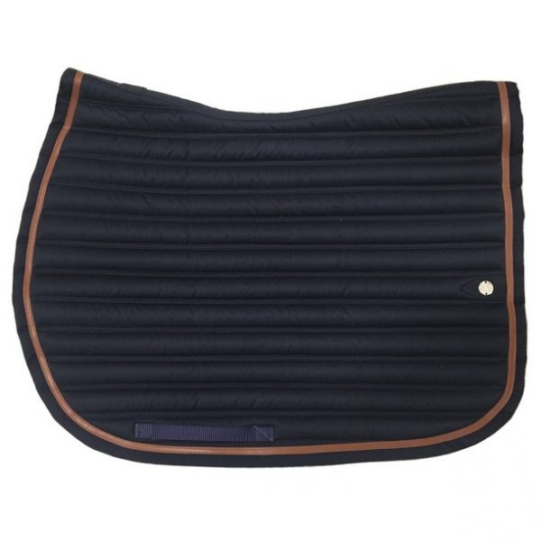 silver-crown_equestrian_saddle-pad_double-carre_double-square_bridle_tapis-de-selle_jumping_bridle_marine_dark-blue_conker_light-brown