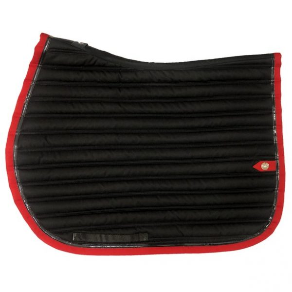 silver-crown_equestrian_saddle-pad_slim_bridle_tapis-de-selle_bridle_noir_black_rouge_red