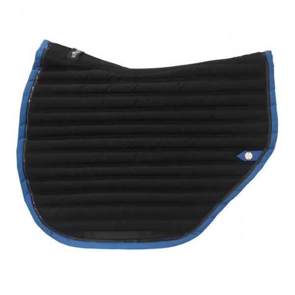 silver-crown_equestrian_saddle-pad_tapis-de-selle_jumping_slim-cut_jumping_noir_black_bleu-roi_royal-blue